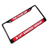 Fulda Gap License Frames