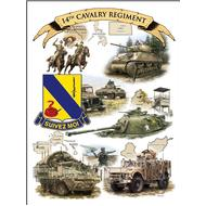 14th Cavalry Regiment Print 12
